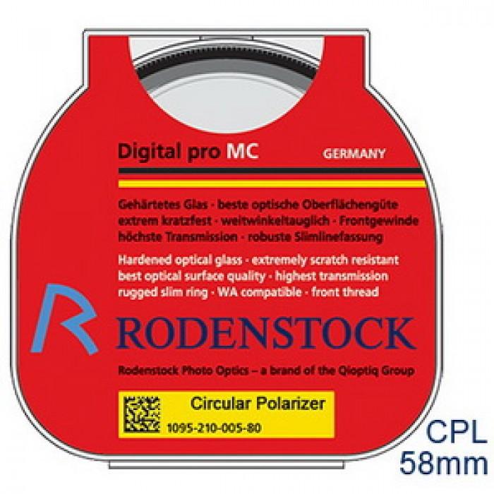 Digital Pro Circular Pol 58mm