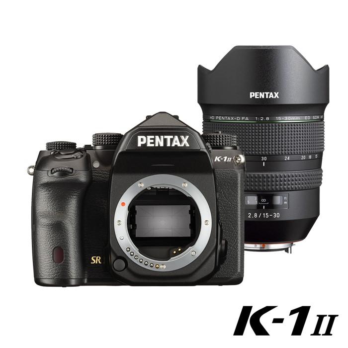 K-1 II+HD DFA 15-30單鏡組註冊禮!原廠電池手把 ~110.10.31止
